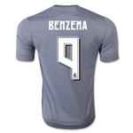 Real Madrid 15/16 BENZEMA Away Soccer Jersey