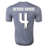 Real Madrid 15/16 SERGIO RAMOS Away Soccer Jersey