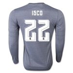 Real Madrid 15/16 ISCO LS Away Soccer Jersey