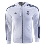 Real Madrid 3-Stripe Full-zip Hoody