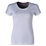 Real Madrid Women's 3-Stripe T-Shirt