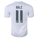 Real Madrid 15/16 BALE Youth Home Soccer Jersey