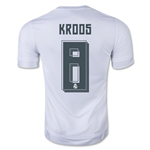 Real Madrid 15/16 KROOS Youth Home Soccer Jersey