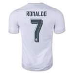 Real Madrid 15/16 RONALDO Youth Home Soccer Jersey