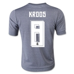 Real Madrid 15/16 KROOS Youth Away Soccer Jersey