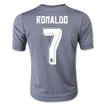 Real Madrid 15/16 RONALDO Youth Away Soccer Jersey