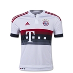 Bayern Munich 15/16 Youth Away Soccer Jersey