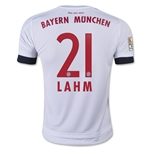 Bayern Munich 15/16 LAHM Youth Away Soccer Jersey
