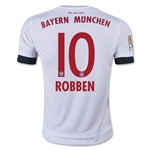 Bayern Munich 15/16 ROBBEN Youth Away Soccer Jersey