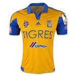 Tigres 15/16 Home Soccer Jersey w/ CCL Patch