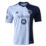 Sporting KC 2014 Replica Primary Soccer Jersey