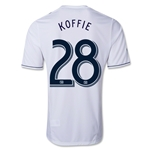 Vancouver Whitecaps 2013 KOFFIE Primary Soccer Jersey
