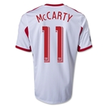 New York Red Bulls 2014 MCCARTY Primary Soccer Jersey