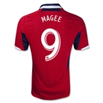 Chicago Fire 2013 MAGEE Primary Soccer Jersey