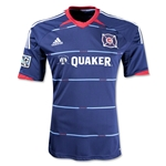Chicago Fire 2014 Secondary Soccer Jersey