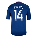 Chicago Fire 2014 NYARKO Replica Secondary Soccer Jersey