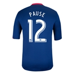 Chicago Fire 2014 PAUSE Replica Secondary Soccer Jersey
