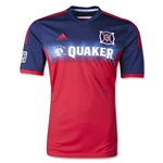 Chicago Fire 2014 Primary Soccer Jersey