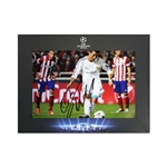 Official UEFA Champions League Ronaldo Signed Photo in Deluxe Packaging