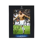 Official UEFA Champions League Ronaldo Signed Real Madrid Photo in Deluxe Packaging