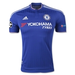 Chelsea 15/16 UCL Authentic Home Soccer Jersey