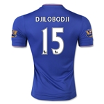 Chelsea 15/16 DJILOBODJI Authentic Home Soccer Jersey