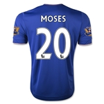 Chelsea 15/16 MOSES Home Soccer Jersey