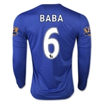 Chelsea 15/16 BABA LS Home Soccer Jersey