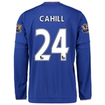 Chelsea 15/16 CAHILL LS Home Soccer Jersey