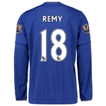 Chelsea 15/16 REMY LS Home Soccer Jersey
