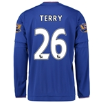 Chelsea 15/16 TERRY LS Home Soccer Jersey
