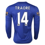 Chelsea 15/16 TRAORE LS Home Soccer Jersey