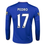 Chelsea 15/16 PEDRO LS Youth Home Soccer Jersey