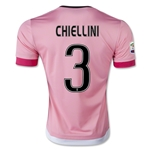 Juventus 15/16 CHIELLINI Away Soccer Jersey