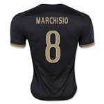 Juventus 15/16 MARCHISIO Third Soccer Jersey