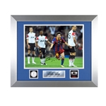 Official UEFA Champions League Messi Signed, Framed Photo 2011 Champions League Final Goal Celebration