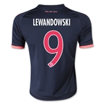 Bayern Munich 15/16 LEWANDOWSKI Youth Third Soccer Jersey