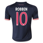 Bayern Munich 15/16 ROBBEN Youth Third Soccer Jersey
