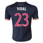 Bayern Munich 15/16 VIDAL Youth Third Soccer Jersey