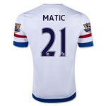 Chelsea 15/16 MATIC Away Soccer Jersey