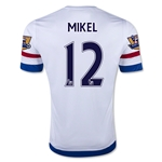 Chelsea 15/16 MIKEL Away Soccer Jersey