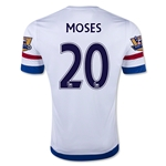 Chelsea 15/16 MOSES Away Soccer Jersey