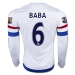 Chelsea 15/16 BABA LS Away Soccer Jersey