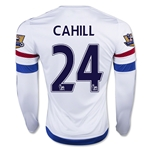 Chelsea 15/16 CAHILL LS Away Soccer Jersey