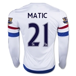 Chelsea 15/16 MATIC LS Away Soccer Jersey