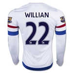 Chelsea 15/16 WILLIAN LS Away Soccer Jersey