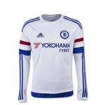 Chelsea 15/16 LS Youth Away Soccer Jersey