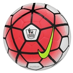 Nike Pitch EPL Ball (White/Bright Crimson/Volt/Black)