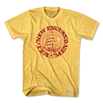 Objectivo Lipton Tea Men Vintage Soccer T-Shirt (Yellow)