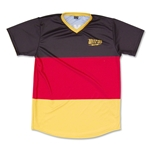 Objectivo Germany Flag #14 Soccer Jersey (Black)